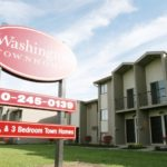 Washington Townhomes Outdoor Sign